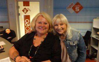 Mieke was te gast bij Tineke De Nooy op Radio5 Nostalgia