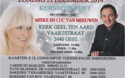 Kerstshow Mieke & Luc Van Meeuwen 21 december 2014