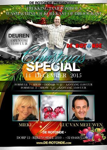 Kerstconcert in Rijkevorsel op 14 december