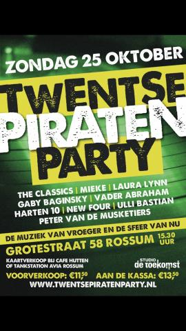Twentse Piraten party (25 oktober 2015)