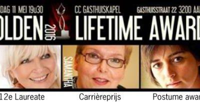 Mieke ontvangt Golden Lifetime Award