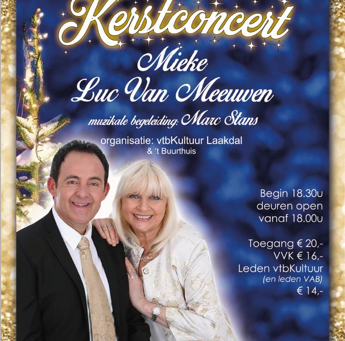 Kerstconcert in Veerle-Heide op 17 december 2017